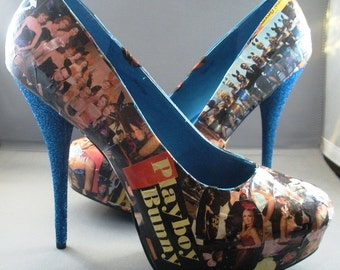 Vintage Playboy Bunny High Heels