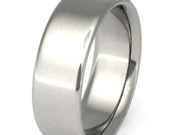 Titanium Wedding Band - Titanium Ring - n12