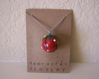 pincushion necklace