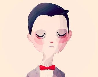 Pee-wee - Illustration Print