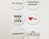 Very Merry Flair Badges : Week in the Life Set A