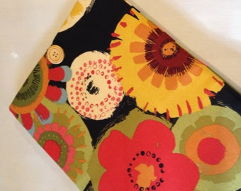 """SALE...SALE...macbook 11"""" padded sleeve /macbook air 11""""  case ./   Made in Maine / black and multicolor"""