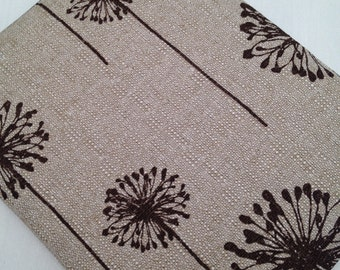 SALE..Zipper iPad mini padded sleeve / made in Maine/ upholstery weight fabric