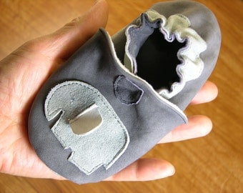 PDF Sewing Pattern - Hardfloor Soft Suede Leather Baby Walking Shoes