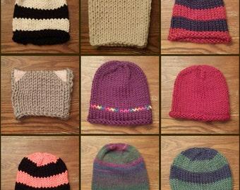Custom Knitted Hat