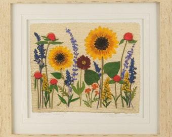 Sunflower Wedding - Artist Signed Fine Art Print