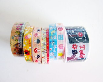 Destash Sale - 7 rolls of Brand New Deco Tapes