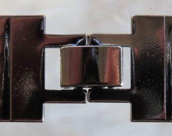 35x17x4mm Black Finish Solid Brass Base 5 Strand Latch Clasp (FS38)