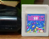 SOAP Tetris Gameboy Cartridge Parody with Case, Vanilla Scent By DigitalSoaps, retro video game geek gift