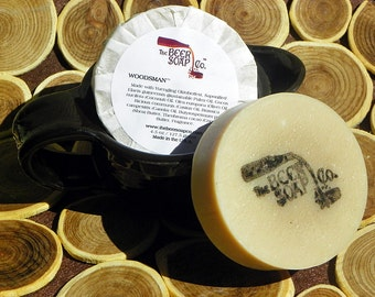 Woodsman Beer Soap Made with Yuengling Oktoberfest Marzen