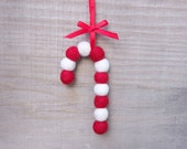 Candy Cane Ornament, Christmas Tree Decoration