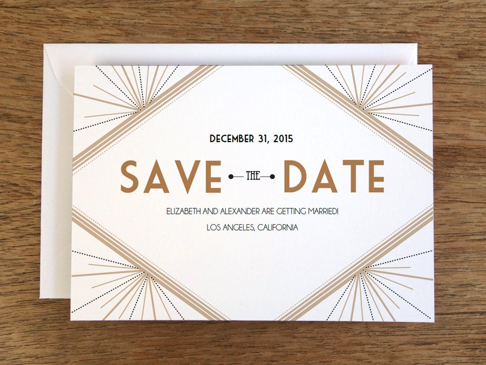 Printable save the date card save the date template by for Downloadable save the date templates free