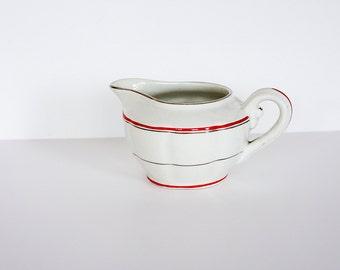 Art Deco milk jug, vintage 1920s / 30s