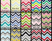"CREATE Your Own - PERSONALIZED Minky Blanket -  Multi Chevron Minky with Dimple Dot Minky-Crib 30"" x 36"""