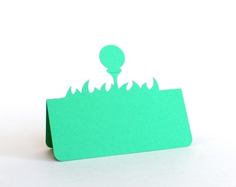 Golf Ball Place Cards Set of 50