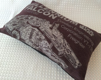 Mini Millenium Falcon Pillow