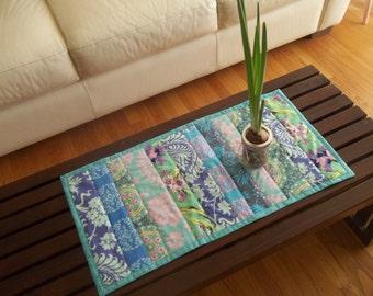 Table Runner Boho Mod Patchwork Runner Amy Butler Fabric