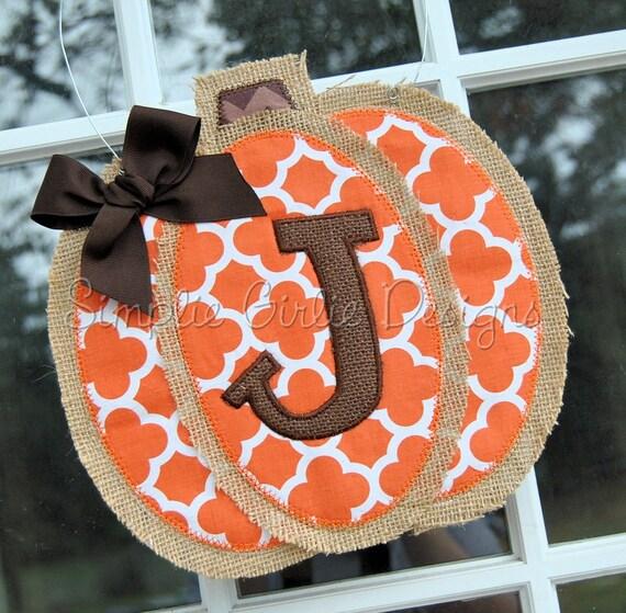 Fall Initial Door Hanger