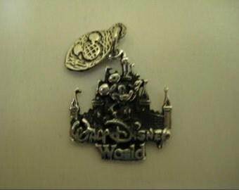 Walt Disney World 2-D Sterling Charm