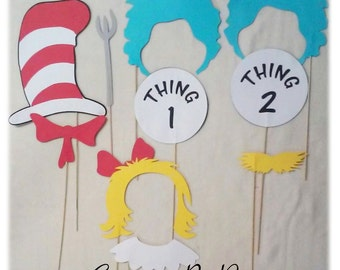 Dr Seuss Photo Props