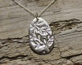 Spoon Jewelry Hand stamped Lead free silver solder