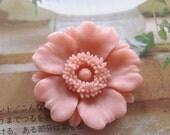 32mm - Large Chrysanthemum  Cabochon - 2 pcs (CA833)