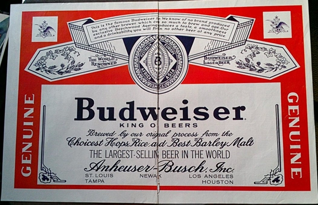 an analysis of the advertisement for budweiser beer Swot analysis of anheuser busch by kasi   swot analysis anheuser busch is of the best and well known beer making company in us, having almost 48% of the market share.