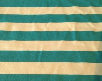 super quality stripe cotton knit fabric