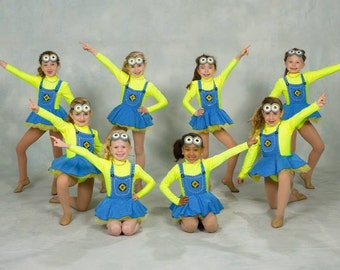 Costume, Minion, Dancewear, girls - CUSTOM MADE