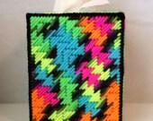 Boutique Tissue Box Cover - Blacklight