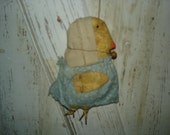 Lil' Chick, Chicken, Chick,  Summer, Spring, Chicken Door hanger, Easter, Primitive, Rustic, Ofg, Faap, Hafair, Dub
