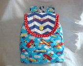 SALE - Boy's Backpack in High Fliers - Available in small size only.