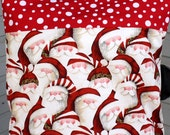 Santa Pillowcase Greeting Bed Pillowcase