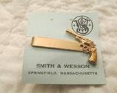 Vintage Smith & Wesson Tie Clip Retro New Vintage Stock