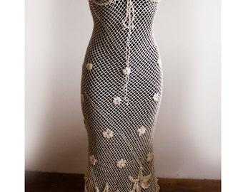 Crochet Pattern . Dress No 236. Sizes S to XXL