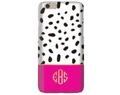 Monogrammed iPhone 6s / iPhone 6 Tech Case - DALMATION Collection
