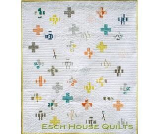 Think Positive PDF quilt pattern