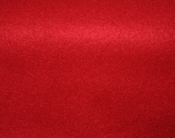 Red Fleece Fabric 30 inches x 60 inches
