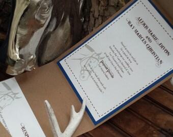 Cowgirl Loves Her Cowboy Wedding Invitation by Kim Boyce Designs