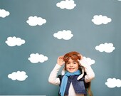 Cloud Wall Decals Cloud Nursery Decor Cloud Wall stickers (Pack of 3)