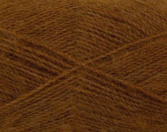 Brown - Angora/Acrylic Sock Knitting Yarn, 100 grams