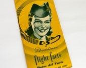 Vintage Airline Flight Folder Chicago Southern Airlines