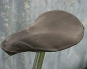 Waxed Canvas Saddle Cover for Brooks Saddles
