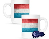 Flag of Luxembourg 15 oz Coffee Mug