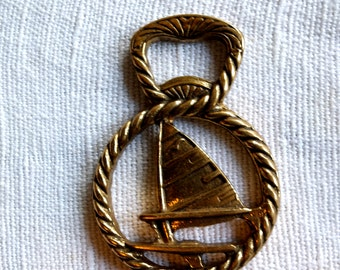 Solid Brass Nautical Bottle Opener