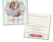 Gift Certificate Template for Photographers - INSTANT DOWNLOAD