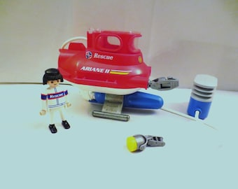 Playmobil Rescue Sub  ARIANE II with pump and driver