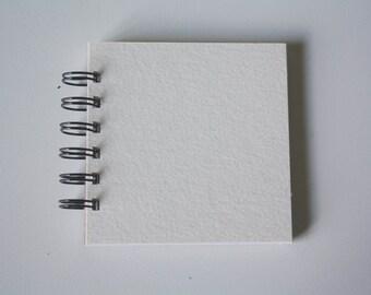 Blank 4 x 4 Mini Book - Watercolor