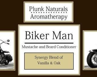 Biker Man Beard & Mustache Conditioner