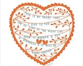 This Is My Heart - Fine Art Print
